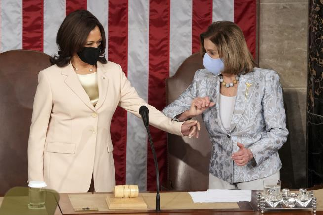 Harris, Pelosi Made History Wednesday Night