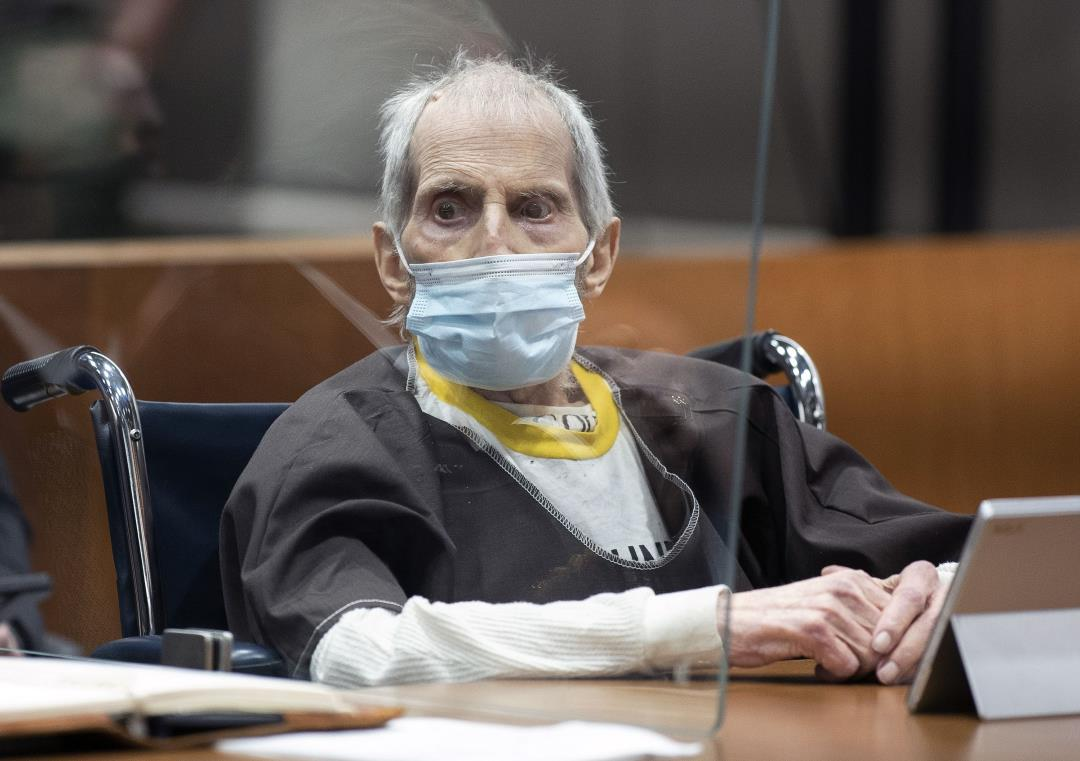 Right After Life Sentence, Robert Durst Fights To Survive