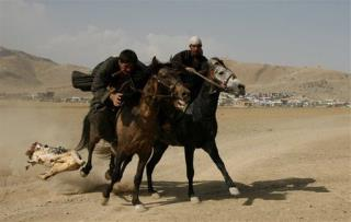 Afghans Revive Goat-Carcass Sport