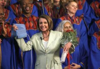 Pelosi Celebrates Health Care Triumph