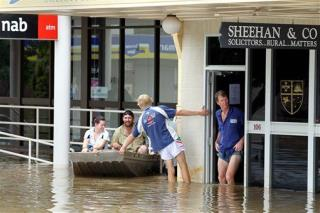 Australians Stranded by Texas-Sized Flood