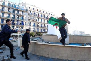Inspired by Egypt, Algerians Take to Streets