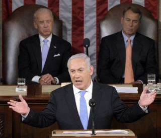 Netanyahu Doesn't Back Down in Speech to Congress