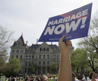 New York Just One Vote Shy of Being Largest State to Legalize Gay Marriage
