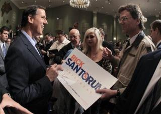 Santorum Camp: Count Michigan as a Tie