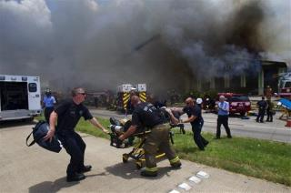 4 Firefighters Dead in Houston Fire