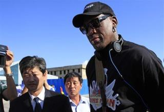 Rodman Reveals N. Korea's Kim Has Baby Girl