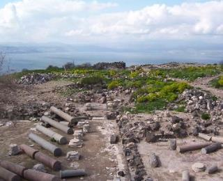 Diggers: Ancient Quake Leveled Sea-of-Galilee City