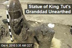 Statue of King Tut's Granddad Unearthed