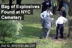 Buried Explosives Cause NYC Cemetery Bomb Scare