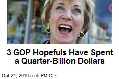 3 GOP Hopefuls Have Spent a Quarter-Billion Dollars
