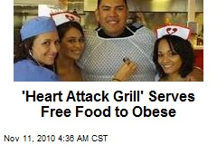 'Heart Attack Grill' Offers Free Food to Obese