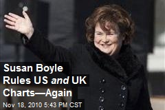 Susan Boyle Rules US and UK Charts—Again