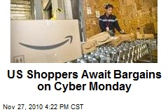 US Shoppers Await Bargains on Cyber Monday
