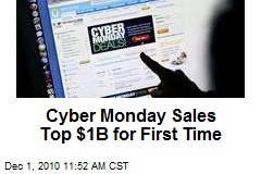 Cyber Monday Sales Top $1B for First Time