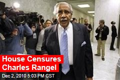 House Censures Charles Rangel