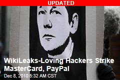 Hacktivists Strike to Defend Wikileaks