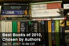 Best Books of 2010, Chosen by Authors