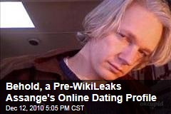 Behold, a Pre-WikiLeaks Assange's Online Dating Profile