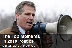 The Top Moments in 2010 Politics