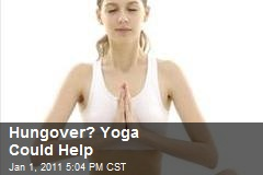 Hungover? Yoga Could Help