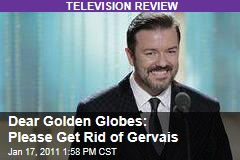 Dear Golden Globes: Please Get Rid of Ricky Gervais