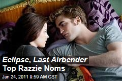 Razzie Award Nominees Include 'Twilight: Eclipse,' 'The Last Airbender,' Jennifer Aniston