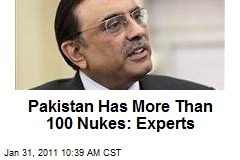 Pakistan Has More Than 100 Nukes: Experts