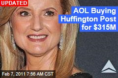 AOL Buying Huffington Post for $315M