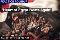'Heart of Egypt Beats Again'