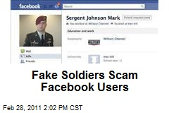 Fake Soldiers Scam Facebook Users