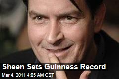 Charlie Sheen Hits 1M Twitter Followers in Record Time