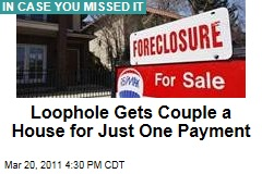 Free House: Iowa Loophole Gets Couple Facing Foreclosure a House for One Payment