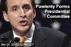 Tim Pawlenty Forms Presidential Committee