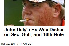 John Daly's Ex-Wife Sherrie Daly Dishes on Sex, Gold, and the 16th Hole