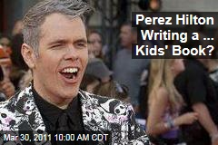 Perez Hilton Writing Children's Book, 'The Boy With Pink Hair'