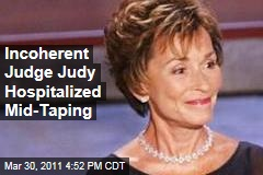 Judge Judy Hospitalized After Speaking Incoherently From Bench; She Had Oral Surgery Yesterday
