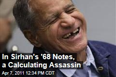 Sirhan Sirhan's 1968 Handwritten Notes About Robert F. Kennedy Assassination Going Up for Auction