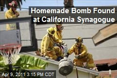 Homemade Bomb Found at California Synagogue