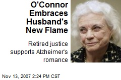 O'Connor Embraces Husband's New Flame