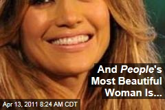 Jennifer Lopez is People Magazine's Most Beautiful Woman in the World for 2011