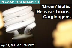 Compact Fluorescent Lightbulbs Emit Carcinogens, Scientists Say
