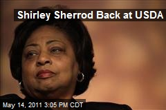 Shirley Sherrod Back at USDA