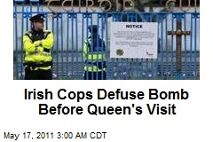 Irish Cops Defuse Bomb Before Queen's Visit
