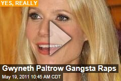 Gwyneth Paltrow Gangsta Raps (Video)