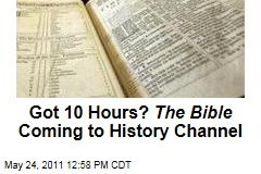 Got 10 Hours? History Channel to Air 'The Bible,' Produced by Mark Burnett, in 2013