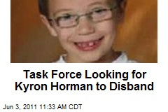 Task Force Looking for Kyron Horman to Disband