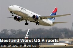Best and Worst US Airports