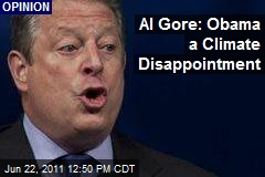 Al Gore: Obama a Climate Disappointment