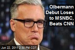 Olbermann Debut Loses to MSNBC, Beats CNN